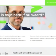 wordpress website business-valuation.nu watismijnbedrijfwaard