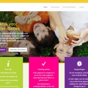kinder-dietist.nl wordpress website 2018 homepage
